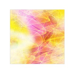 Background Art Abstract Watercolor Small Satin Scarf (square) by Nexatart