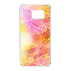 Background Art Abstract Watercolor Samsung Galaxy S7 White Seamless Case