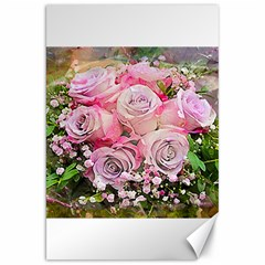 Flowers Bouquet Wedding Art Nature Canvas 20  X 30   by Nexatart