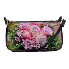Flowers Bouquet Wedding Art Nature Shoulder Clutch Bags by Nexatart