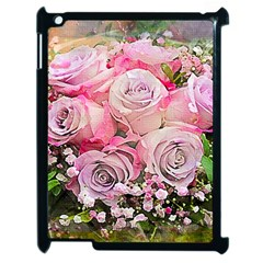 Flowers Bouquet Wedding Art Nature Apple Ipad 2 Case (black)