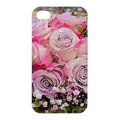 Flowers Bouquet Wedding Art Nature Apple Iphone 4/4s Premium Hardshell Case