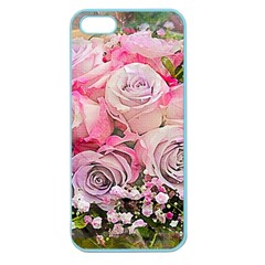 Flowers Bouquet Wedding Art Nature Apple Seamless Iphone 5 Case (color)