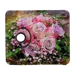 Flowers Bouquet Wedding Art Nature Galaxy S3 (flip/folio)