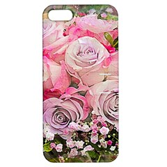 Flowers Bouquet Wedding Art Nature Apple Iphone 5 Hardshell Case With Stand