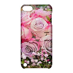 Flowers Bouquet Wedding Art Nature Apple Ipod Touch 5 Hardshell Case With Stand