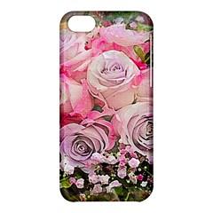 Flowers Bouquet Wedding Art Nature Apple Iphone 5c Hardshell Case by Nexatart