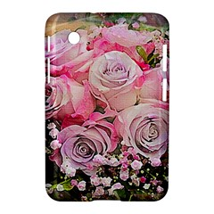 Flowers Bouquet Wedding Art Nature Samsung Galaxy Tab 2 (7 ) P3100 Hardshell Case