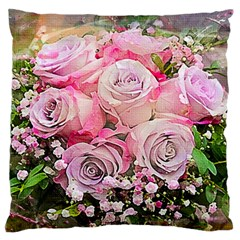 Flowers Bouquet Wedding Art Nature Standard Flano Cushion Case (two Sides)