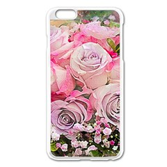 Flowers Bouquet Wedding Art Nature Apple Iphone 6 Plus/6s Plus Enamel White Case