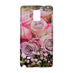 Flowers Bouquet Wedding Art Nature Samsung Galaxy Note 4 Hardshell Case