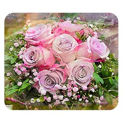 Flowers Bouquet Wedding Art Nature Double Sided Flano Blanket (small)