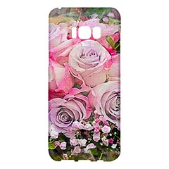 Flowers Bouquet Wedding Art Nature Samsung Galaxy S8 Plus Hardshell Case