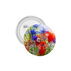 Flowers Bouquet Art Nature 1 75  Buttons by Nexatart