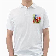 Flowers Bouquet Art Nature Golf Shirts