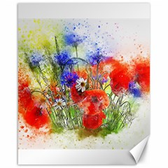 Flowers Bouquet Art Nature Canvas 16  X 20
