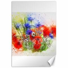 Flowers Bouquet Art Nature Canvas 20  X 30