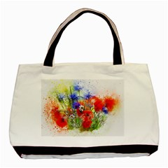 Flowers Bouquet Art Nature Basic Tote Bag (two Sides)