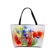 Flowers Bouquet Art Nature Shoulder Handbags by Nexatart