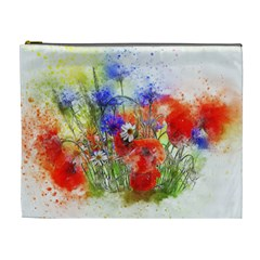 Flowers Bouquet Art Nature Cosmetic Bag (xl)