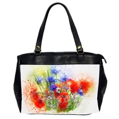 Flowers Bouquet Art Nature Office Handbags (2 Sides)