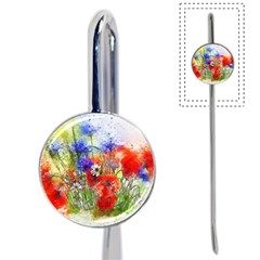 Flowers Bouquet Art Nature Book Mark