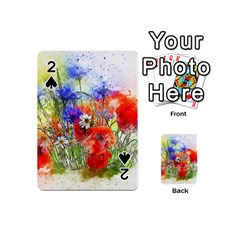 Flowers Bouquet Art Nature Playing Cards 54 (mini)