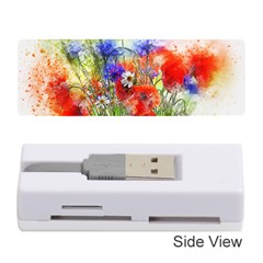 Flowers Bouquet Art Nature Memory Card Reader (stick)