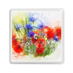 Flowers Bouquet Art Nature Memory Card Reader (square)  by Nexatart