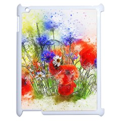 Flowers Bouquet Art Nature Apple Ipad 2 Case (white)
