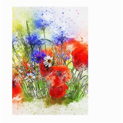 Flowers Bouquet Art Nature Large Garden Flag (two Sides)