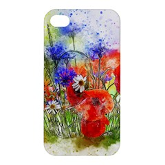 Flowers Bouquet Art Nature Apple Iphone 4/4s Premium Hardshell Case