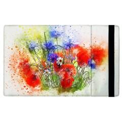 Flowers Bouquet Art Nature Apple Ipad 3/4 Flip Case