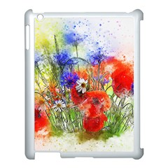 Flowers Bouquet Art Nature Apple Ipad 3/4 Case (white)