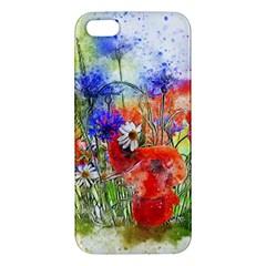 Flowers Bouquet Art Nature Iphone 5s/ Se Premium Hardshell Case by Nexatart