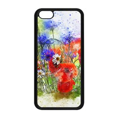 Flowers Bouquet Art Nature Apple Iphone 5c Seamless Case (black)