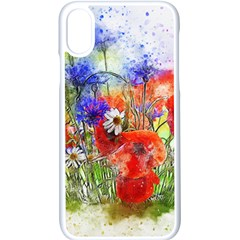 Flowers Bouquet Art Nature Apple Iphone X Seamless Case (white) by Nexatart