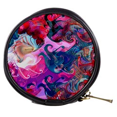 Background Art Abstract Watercolor Mini Makeup Bags