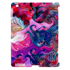 Background Art Abstract Watercolor Apple Ipad 3/4 Hardshell Case (compatible With Smart Cover)