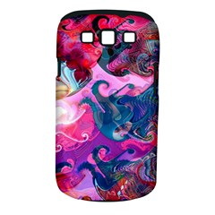 Background Art Abstract Watercolor Samsung Galaxy S Iii Classic Hardshell Case (pc+silicone)