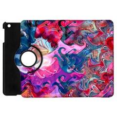 Background Art Abstract Watercolor Apple Ipad Mini Flip 360 Case