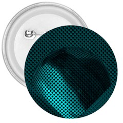 Background Sphere Ball Metal Blue 3  Buttons