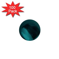 Background Sphere Ball Metal Blue 1  Mini Magnets (100 Pack)
