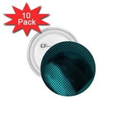 Background Sphere Ball Metal Blue 1 75  Buttons (10 Pack)