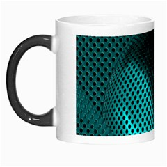 Background Sphere Ball Metal Blue Morph Mugs