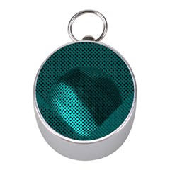 Background Sphere Ball Metal Blue Mini Silver Compasses by Nexatart