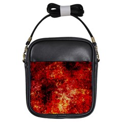 Background Art Abstract Watercolor Girls Sling Bags