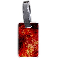 Background Art Abstract Watercolor Luggage Tags (two Sides)