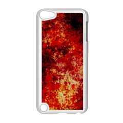 Background Art Abstract Watercolor Apple Ipod Touch 5 Case (white)