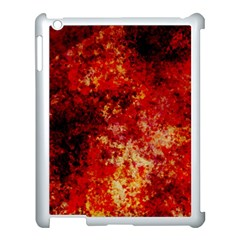 Background Art Abstract Watercolor Apple Ipad 3/4 Case (white)